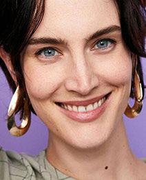 Elegant Silver Color U Shape Design Pure Color Earrings