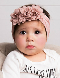 Banda De Pelo De Bebé De Nylon De Flor De Gasa