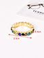 Fashion Light Color Alloy Diamond Ring