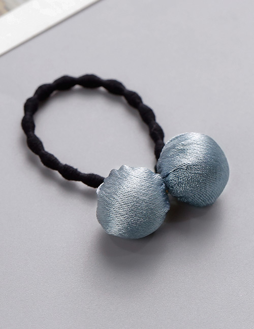 Fashion Light Blue Ball Shape Decorated Hair Band