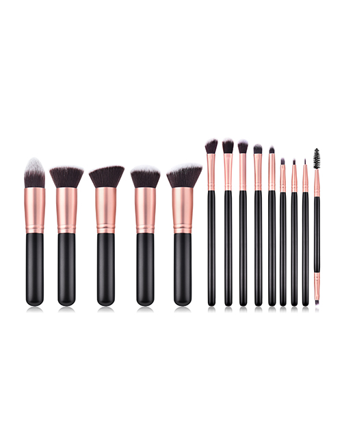Fashion Black 14 Stick Makeup Brush