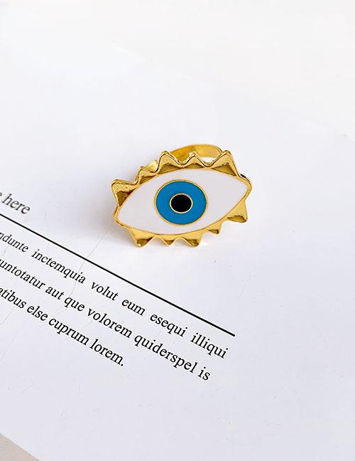 Fashion Eye Alloy Eye Ring