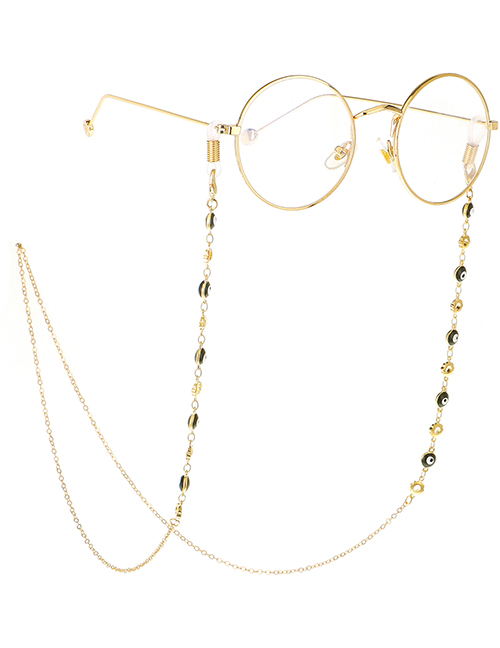 Fashion Gold Eye Flower Chain Anti-lost Metal Glasses Chain