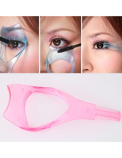 Fashion Pink Pure Color Decorated Simple Tool Of Lash Curler