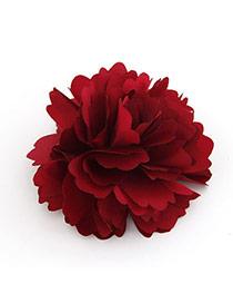 Unique Red Flower Design