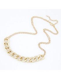 Doggie Gold Color Chain