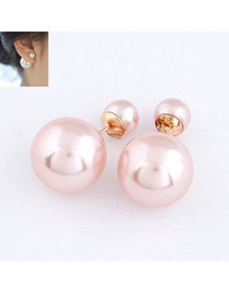 Corporate Pink Big Pearl Design