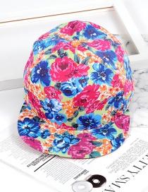 Hip Hop Gorra Estampada De Flores De Moda