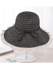 Sombrero Con Volantes De Moda