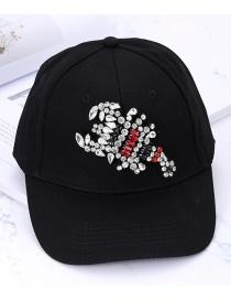 Gorra Decorada Con Escorpión De Moda