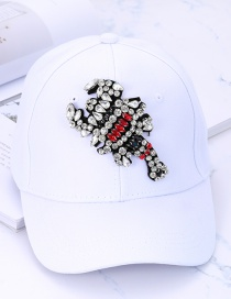 Gorra Decorada Con Escorpión De Moda
