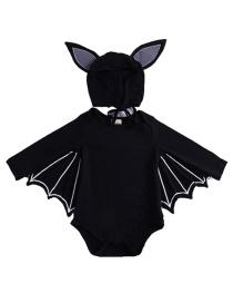 Niños Disfraz De Bate Con Gorra Para Halloweeen