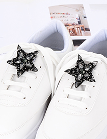 Decoración Para Zapatos De Estrella