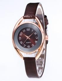 Reloj De Color Puro De Moda