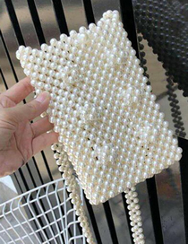 Mini Bolsa De Perlas Para Celular