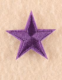 Pequeño Parche De Estrella Bordado