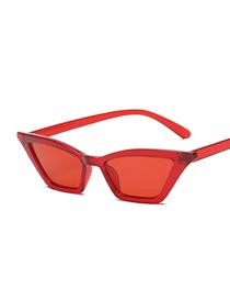 Caja Pequeña Ojo De Gato Gafas De Sol De Plástico Bisagra