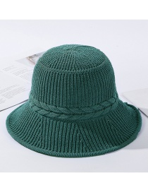 Sombrero De Punto De Seda Con Leche