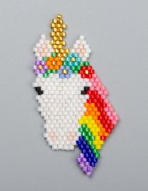Accesorios Cuentas Woven Unicorn