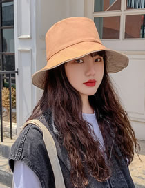 Sombreado De Algodón De Doble Cara Con Sombrero De Pescador