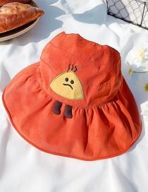 Sombrero Para El Sol Para Niños Con Costura De Impresión De Bordado De Bola De Arroz