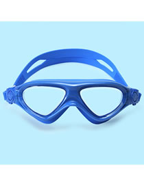 Gafas De Natación Para Niños Impermeables De Alta Definición Antivaho Y De Gran Color