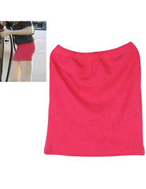 Rave Plum Red Fit Sile A Shape Skirt Cotton Dress-Skirt