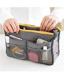 Catholic Gray Zipper Design Nylon Home Storage Bags