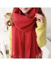 Friendship Bright Red Warmth Monochromatic Design