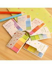 Lovely Random Color Rainbow Simple Design